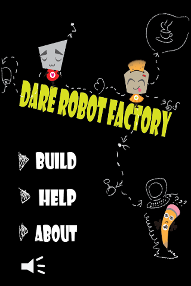 Screenshot DareRobotFactory