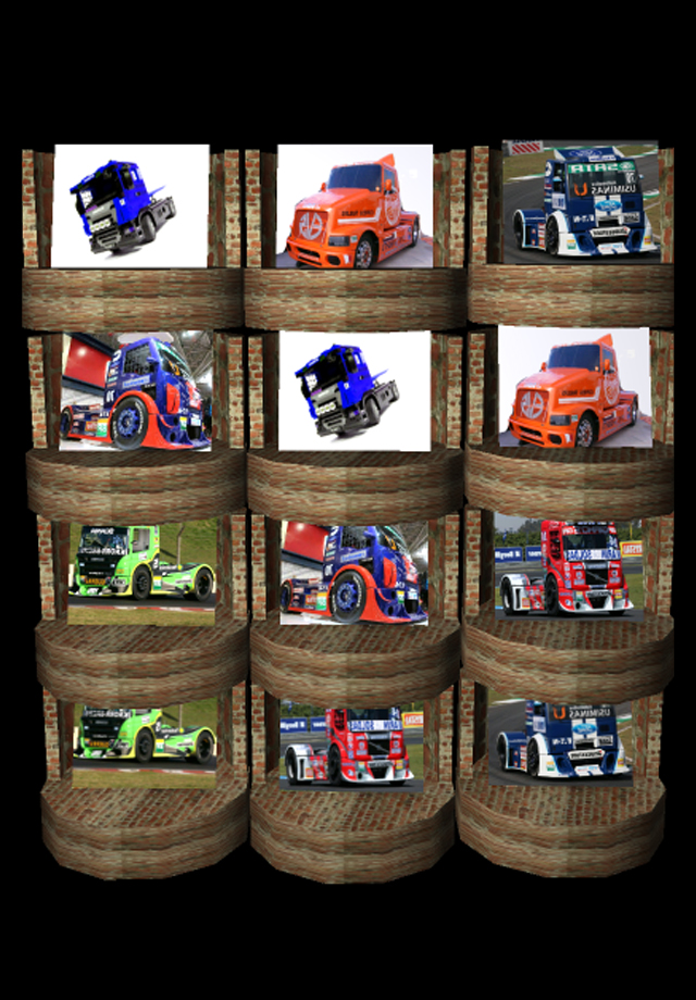 Screenshot Racing Trucks 3d Pairs Game Pro